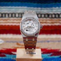 Audemars Piguet 26120ST.OO.1220ST.01 Staal 2007 Royal Oak Dual Time 39mm tweedehands