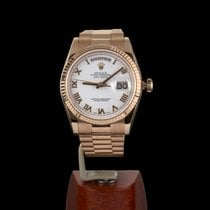 Rolex 118236 Or rose 2000 Day-Date 36mm occasion