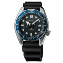 Seiko Prospex Steel 44mm Black United States of America, Florida, Tarpon Springs