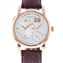 A. Lange & Söhne Lange 1 Rose gold 38.5mm Silver United States of America, Georgia, Atlanta