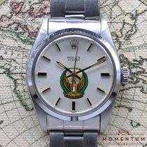 Rolex Oyster Precision Steel 34mm Silver No numerals UAE, Dubai