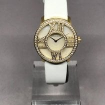 Tiffany Yellow gold 30mm Quartz Z1901.10.50E91A40B new