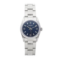Rolex Oyster Perpetual 31 pre-owned 31mm Blue Fold clasp