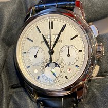Patek Philippe 5270G-001 White gold 2013 Perpetual Calendar Chronograph 41mm pre-owned