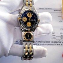 Breitling Chronomat B13050 Très bon Or/Acier Remontage automatique France