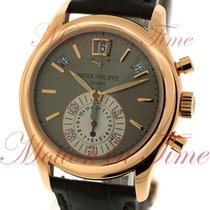 Patek Philippe Annual Calendar Chronograph Rose gold 40mm Black No numerals