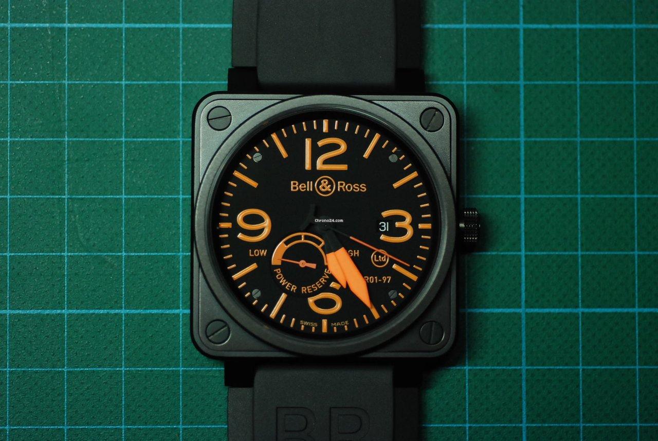 on sale fb1f1 e9431 Bell & Ross BR01-97 LE Orange 1 of 250