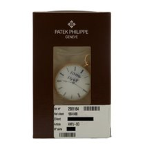 Patek Philippe Pocket Watch Guilloched Case Back 18k Yellow...
