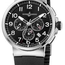 Ulysse Nardin Titanium Automatic Black new Marine Chronograph