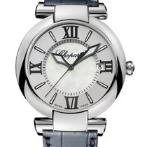Chopard Imperiale 40mm Automatic Silver Alligator Leather...