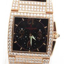 De Grisogono Uno Chronograph 18k Rose Gold With 8ct Custom...