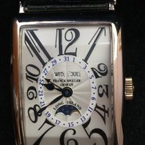 Franck Muller Long island MasterCalender Moon Phase W.Gold Men...