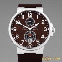 Ulysse Nardin Marine Chronometer 41mm Steel 41 mm case without crownmm Bronze Arabic numerals