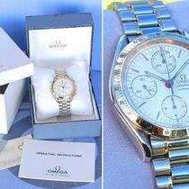 Omega Speedmaster DATE DATA Oro GOLD 18Kt/Steel White  175.0043