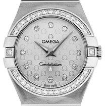 Omega Constellation Quartz 27mm Plata