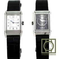 Jaeger-LeCoultre Reverso Classic Small Duetto Acero 34mm Negro Árabes