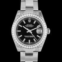 Rolex White gold Automatic new Lady-Datejust