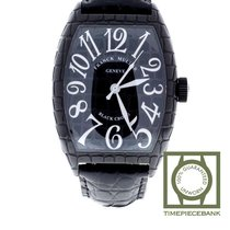 Franck Muller Casablanca Steel 55mm Black Arabic numerals