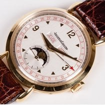 Jaeger-LeCoultre New Old Stock Vintage Moon Phase Triple Date...