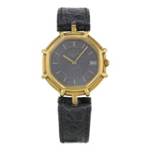 Gérald Genta Yellow gold Quartz Black No numerals 31mm pre-owned