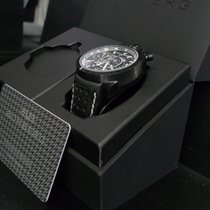 Bomberg new Quartz Luminous hands PVD/DLC coating 45mm Steel Sapphire crystal