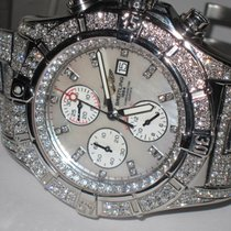 Breitling Super Avenger Steel 48mm Mother of pearl Arabic numerals United States of America, New York, NEW YORK CITY
