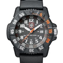 Luminox XS.3801.C.SET LUMINOX SEA Master Carbon Nero Arancione 46mm novo