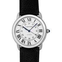 Cartier Ronde Croisière de Cartier Steel 36mm Silver United States of America, California, San Mateo