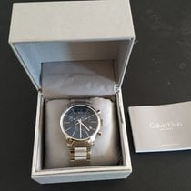 ck Calvin Klein Steel Quartz K2G271 new