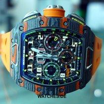 Richard Mille Chronograaf 50mm Automatisch nieuw RM 011