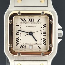 Cartier Santos Galbée occasion 29mm Or/Acier