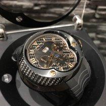 法郎维拉 碳 自动上弦 黑色 阿拉伯数字 50mm 全新