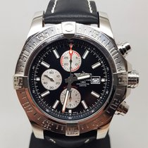 Breitling pre-owned Automatic 48mm Black Sapphire Glass 30 ATM