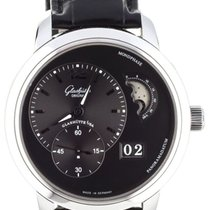 Glashütte Original PanoMaticLunar Steel 40mm Black United States of America, Illinois, BUFFALO GROVE