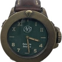 Ennebi pre-owned Automatic 44mm Green Sapphire Glass