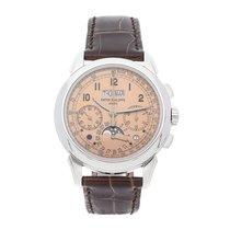 Patek Philippe 5270P-001 Platine Perpetual Calendar Chronograph 41mm occasion