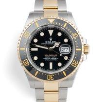 Rolex Sea-Dweller Zlato/Zeljezo 43mm