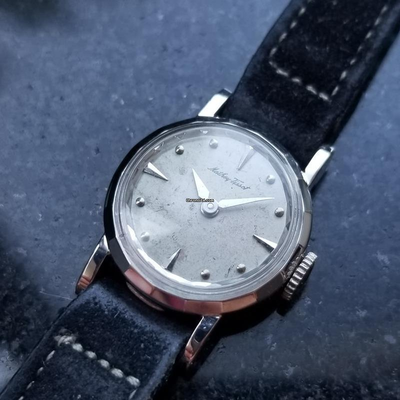 16386ad23 Mathey-Tissot Ladies Solid 14K White Gold Cocktail Dress... for Rp.  8,628,591 for sale from a Trusted Seller on Chrono24
