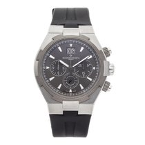 Vacheron Constantin Overseas Chronograph pre-owned 42.5mm Grey Chronograph Date Rubber