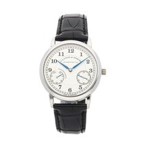 A. Lange & Söhne Platinum 35.9mm Manual winding 221.025 pre-owned United States of America, Pennsylvania, Bala Cynwyd