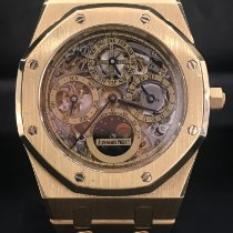 Audemars Piguet Royal Oak Perpetual Calendar Yellow gold 39mm Transparent