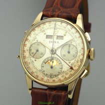 Doxa Yellow gold Manual winding Gold 36mm pre-owned