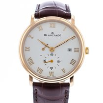 Blancpain 6606-3642-55B Or rose 2010 Villeret Ultra-Plate 40mm occasion