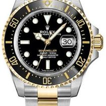 Rolex Sea-Dweller Gold/Steel 43mm Black No numerals United States of America, Florida, Sunny Isles Beach