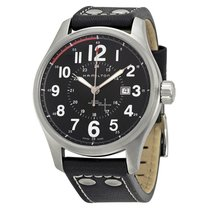 Hamilton Khaki Field Officer Steel 44mm Transparent Arabic numerals