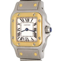 Cartier Santos Galbée Steel 24mm White Roman numerals
