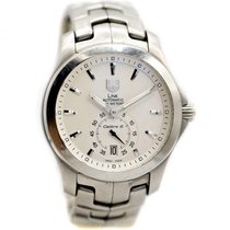 TAG Heuer Link Calibre 6 pre-owned 39mm White Steel