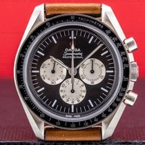 Omega Speedmaster Professional Moonwatch Staal 42mm Zwart Arabisch