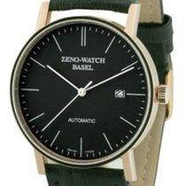 Zeno-Watch Basel Желтое золото Автоподзавод Черный 40mm новые