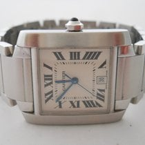 Cartier Tank Francaise Steel Automatic Ref.2302